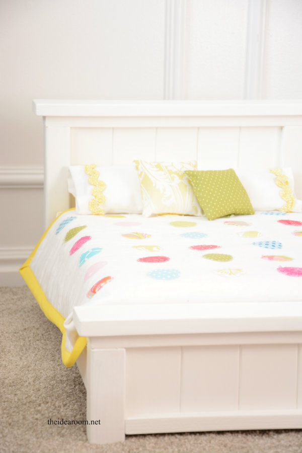 DIY Doll Bed 7