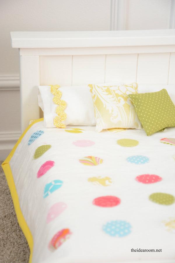 Diy Doll Bed The Idea Room