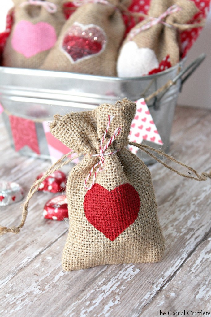 Valentine Paper Bag Craft For Kids
