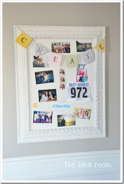 DIY-bulletin-board