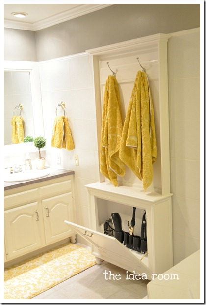 Hair tool storage ideas