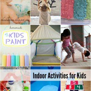 Indoor Activities for Kids Cover