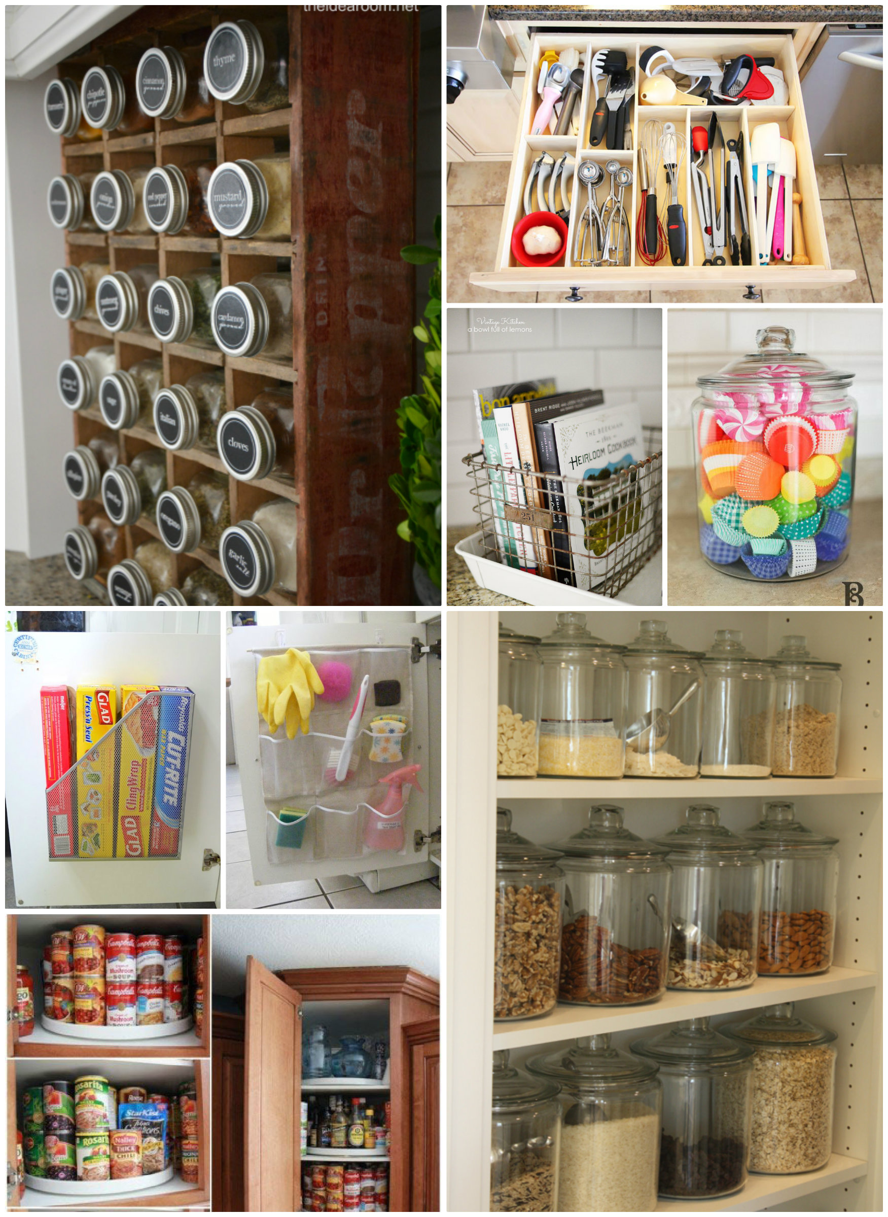Kitchen Organization Tips The Idea Room
