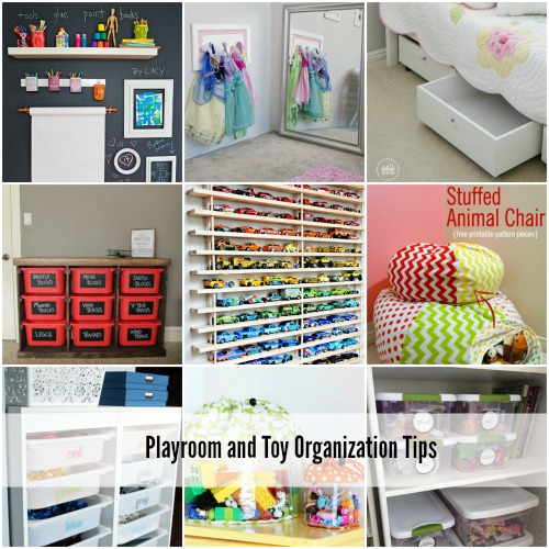 Playroom and Toy Organization Tips Cover