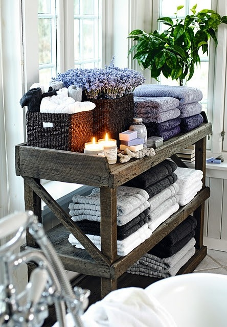 Rustic-towel-shelf