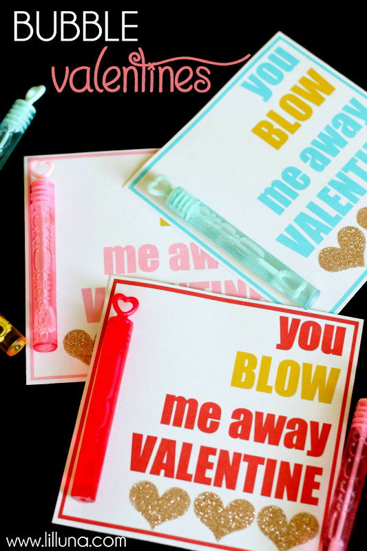 photograph about You Blow Me Away Valentine Printable named 50 Do-it-yourself Small children Clroom Valentines Working day Recommendations - The Strategy Area