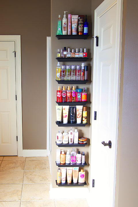 Use a Towel Rack Shelf for Bathrooms with Multiple Users instead of ...