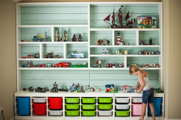 Playroom and toy organization tips the idea room - Boite rangement vintage ...