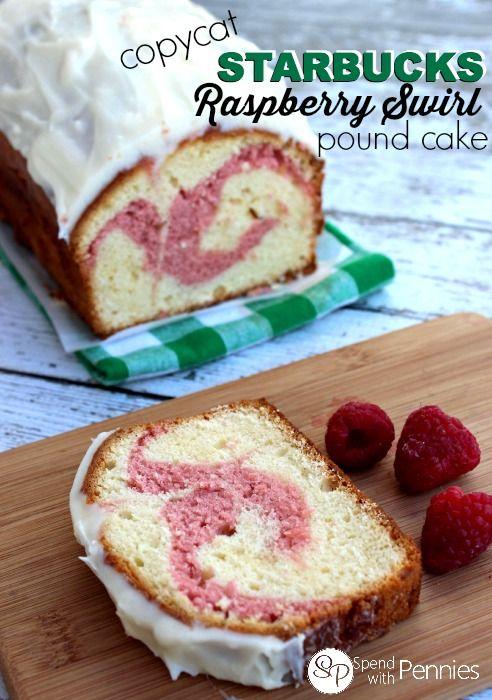 copycat Starbucks Raspberry Swirl Bread