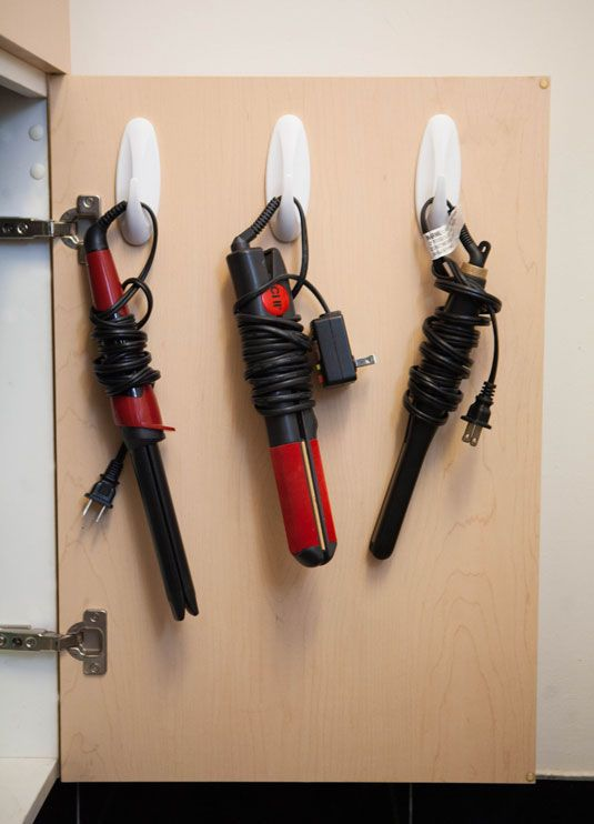 hair tool storage