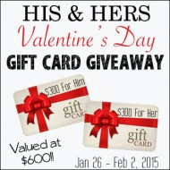 His & Hers Valentine's Day Giveaway