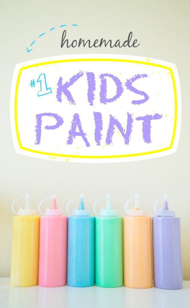 homemade kids paint