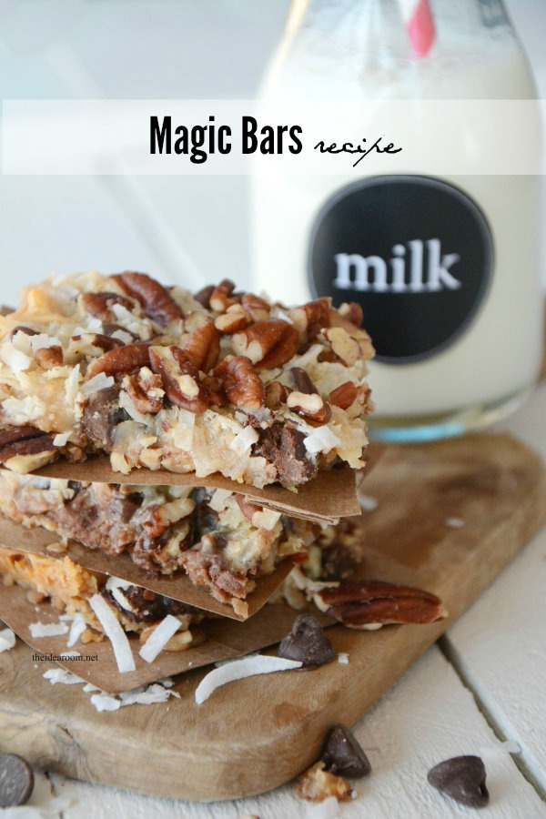 magic bars recipe cover
