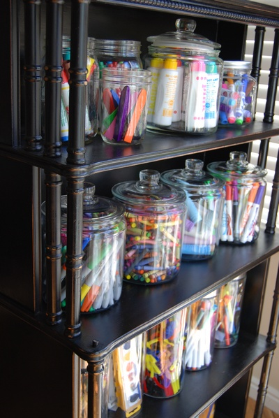 20 office organization tips the idea room for Craft supplies organization ideas
