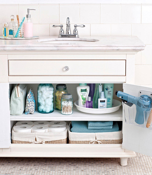 Under the sink organization ideas from good housekeeping