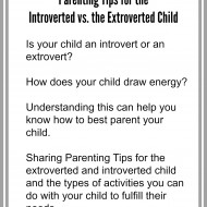Parenting Tips: Introverted vs. Extroverted Child