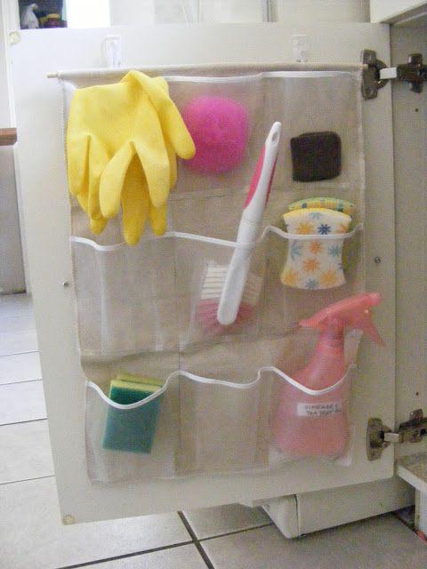 pocket kitchen sink organizer