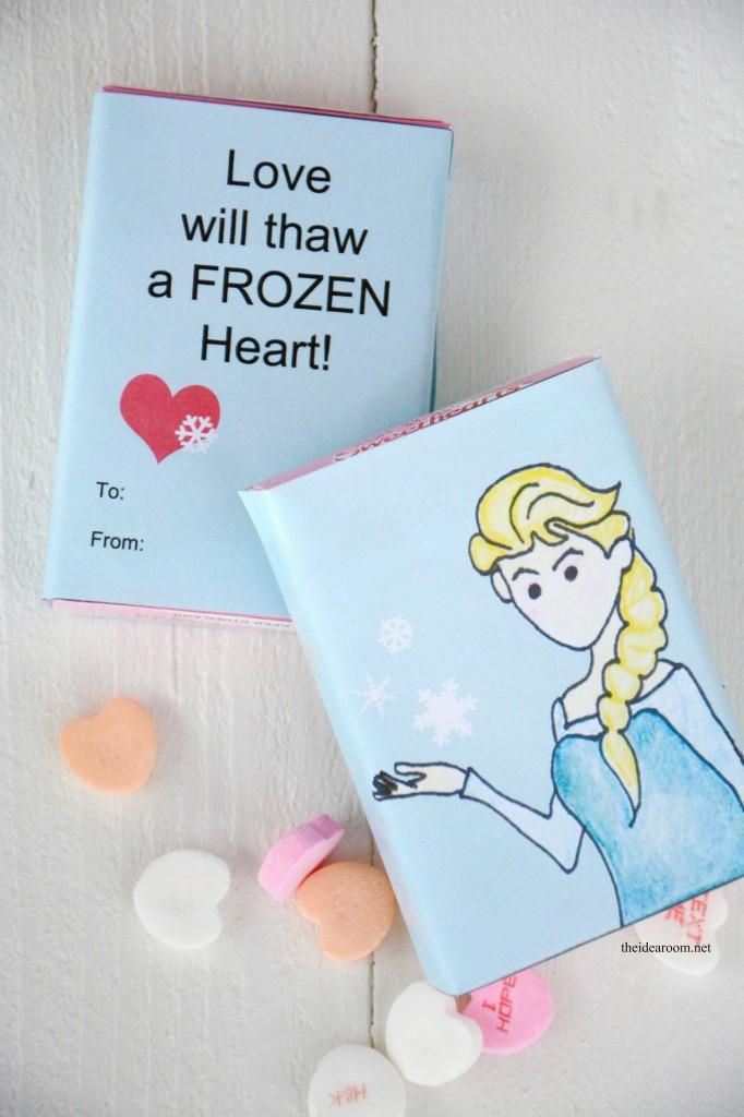 printable frozen valentines 3