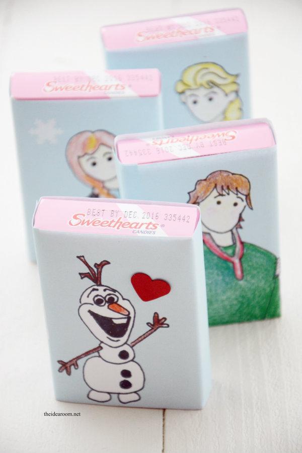printable frozen valentines 4
