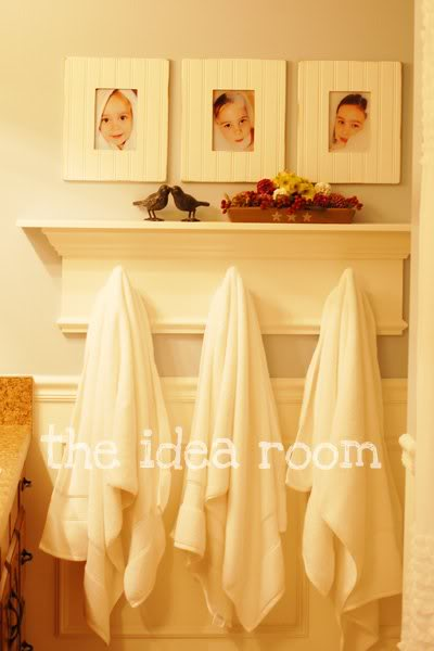 Bathroom organization tips the idea room for Bathroom ideas for towels