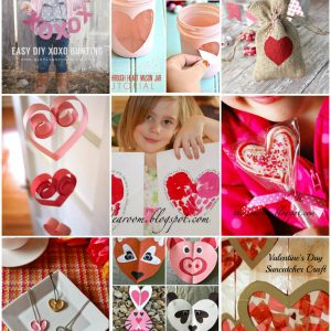 valentines day crafts cover