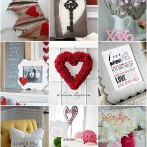 valentines day decor round up