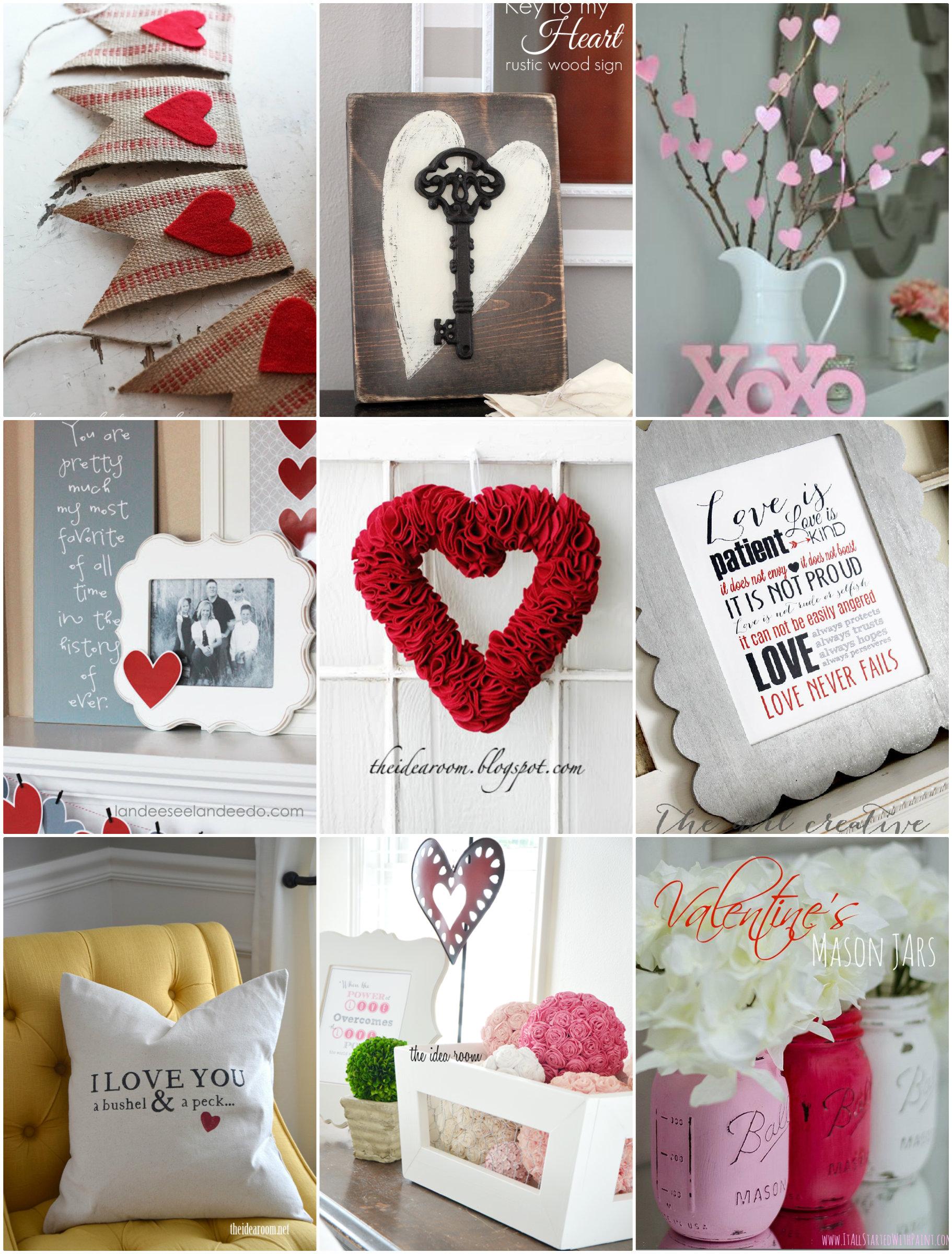 Valentine S Day Decor Round Up The Idea Room