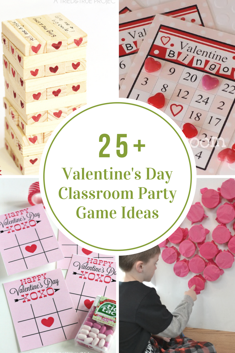 Classroom Game Ideas : Valentine s day classroom party games the idea room