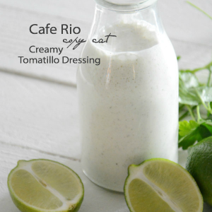 Creamy Tomatillo Ranch Dressing Recipe