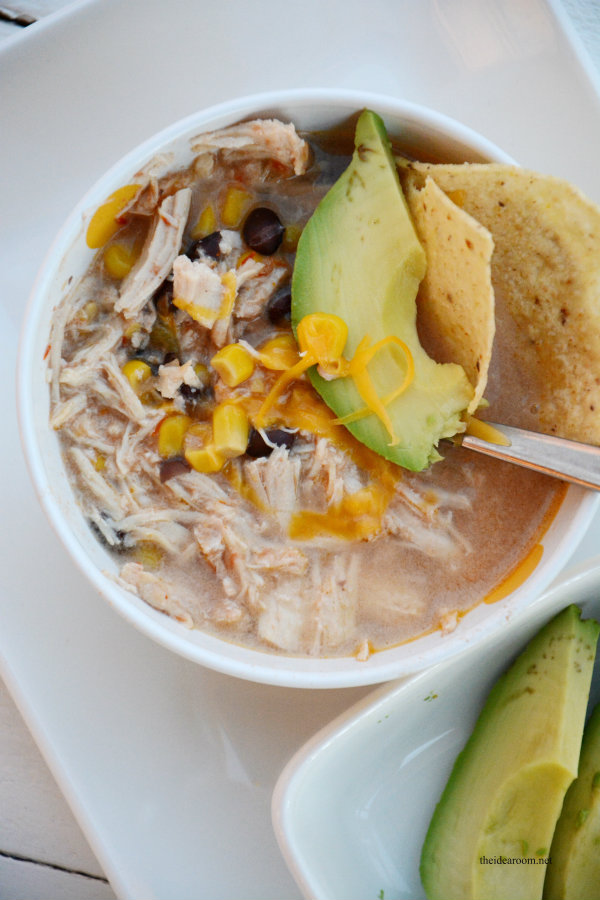 Chicken and Black Bean Soup 3