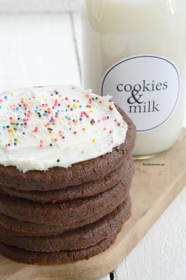 Chocolate Sugar Cookies 3