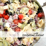 Cold Tortellini Salad Recipe