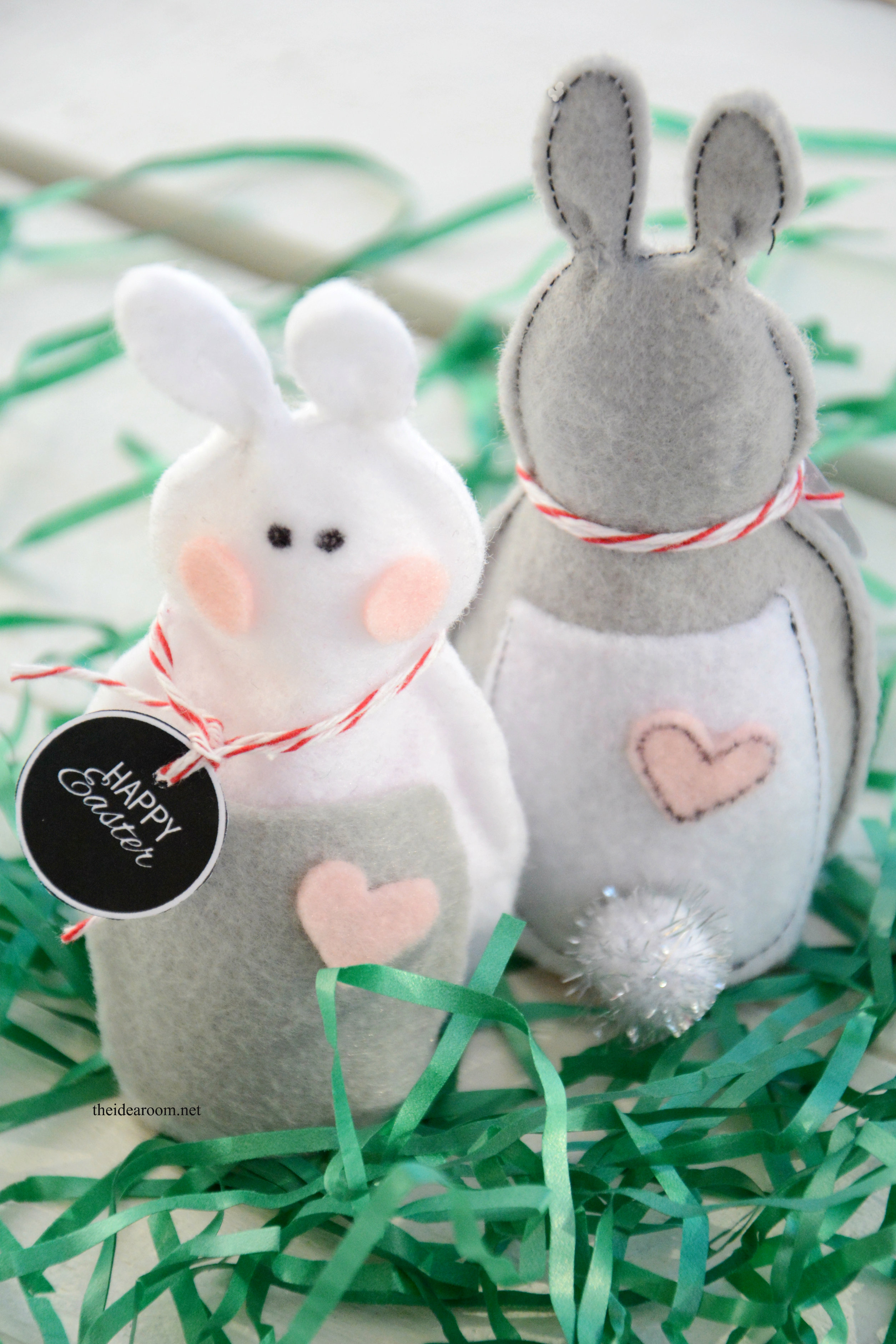 Felt easter bunnies easter bunny gift 2 negle Gallery