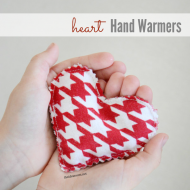 DIY Heart Hand Warmers