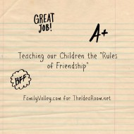 Teaching Children the Rules of Friendship