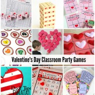 Valentine's Day Classroom Party Games