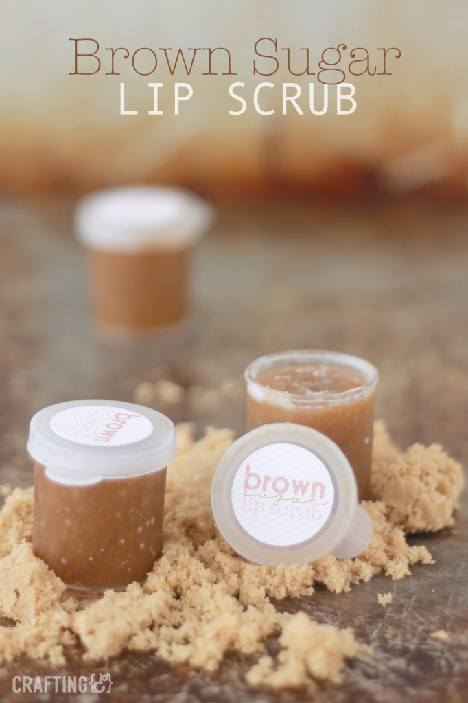 brown sugar lip scrub
