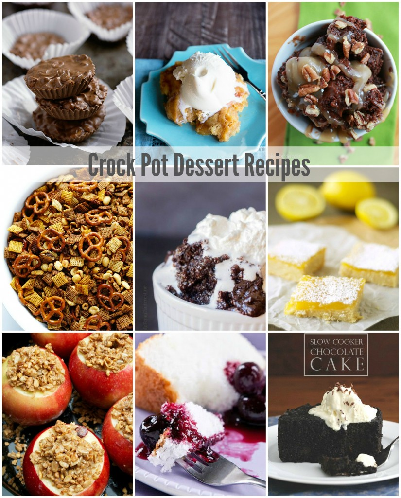 crock pot dessert recipes
