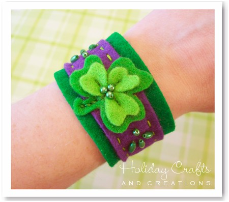 kids_sewing_projects_ShamrockBraceletFinal2