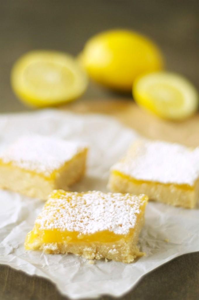 slow cooker lemon bars