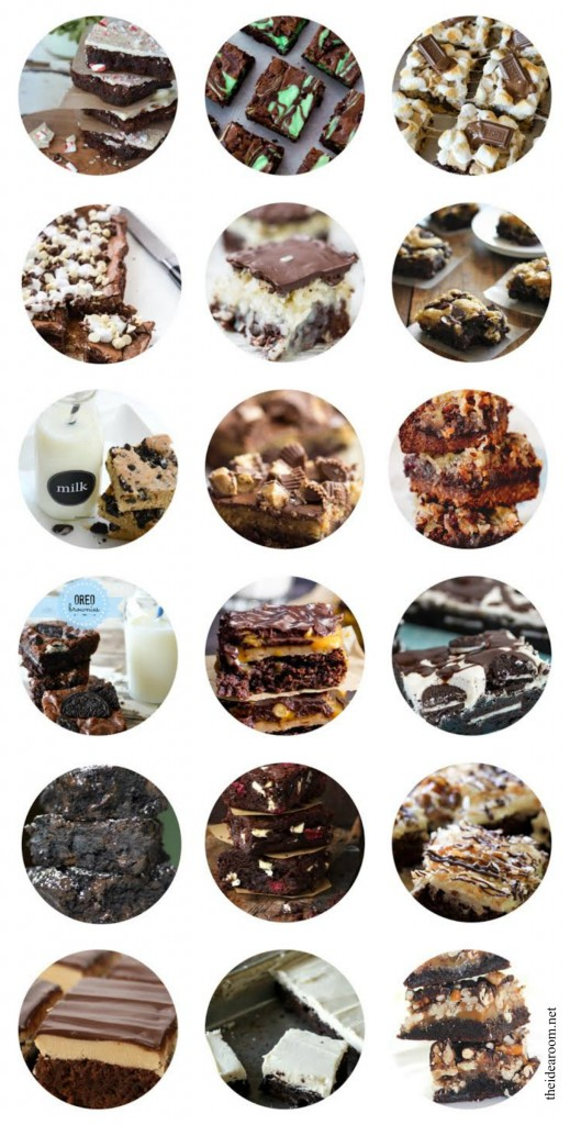 25 Brownie Recipes Cover
