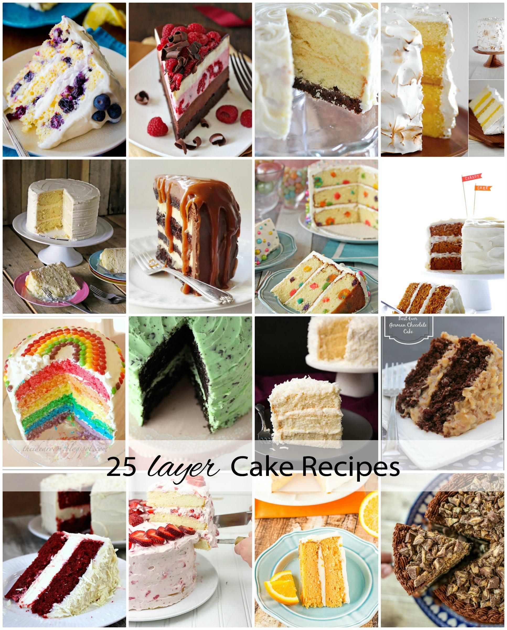 25 Layer Cake Recipes Cover