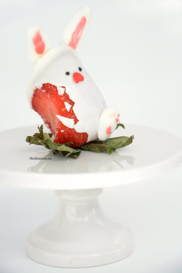 Chocolate Covered Strawberry Easter Bunny 1