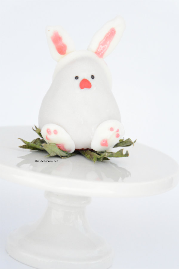 Chocolate Covered Strawberry Easter Bunny 4