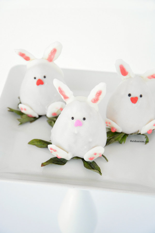 Chocolate Covered Strawberry Easter Bunny 5