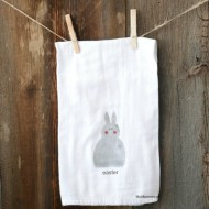 DIY Easter Hand Towel