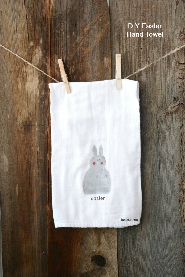 DIY-Easter-Hand-Towel-Cover