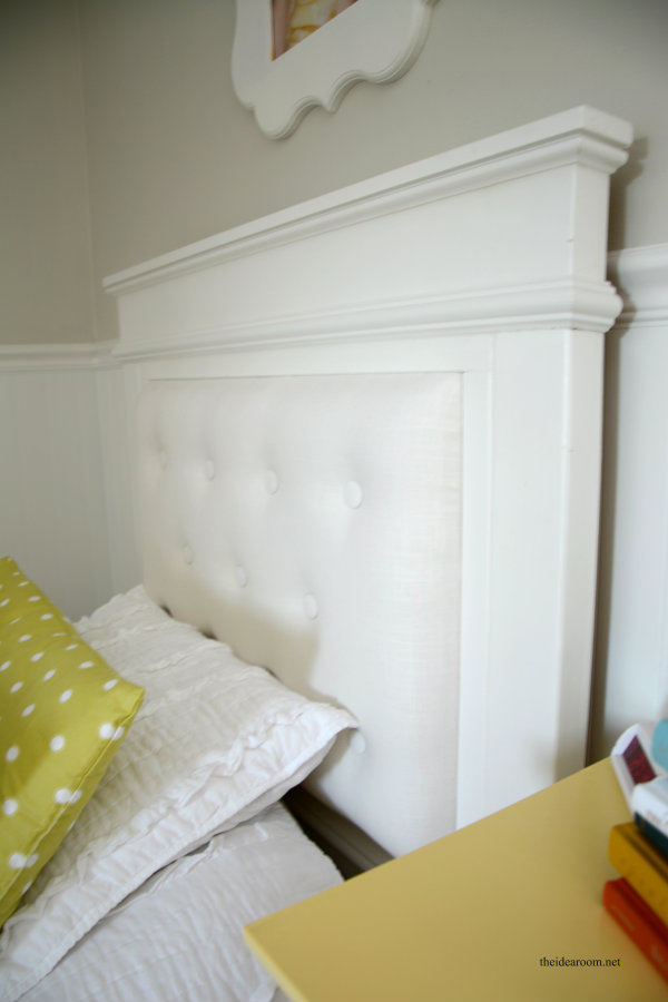DIY Tufted Headboard 3