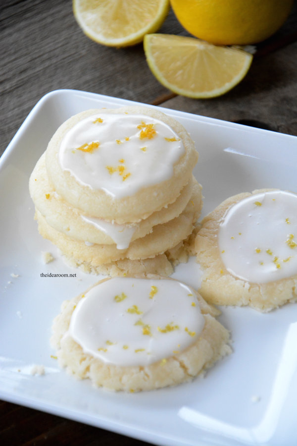 Lemon Meltaway Cookies - The Idea Room