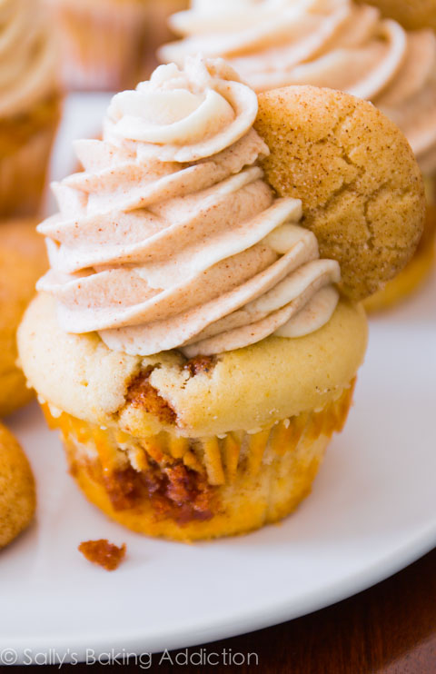 Snickerdoodle-Cupcakes